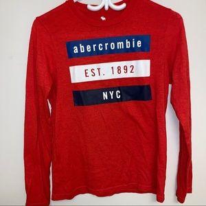  Abercrombie Kids  big boy T-shirt